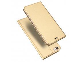 Pouzdro pro iPhone 5 / 5S / SE - DuxDucis, SkinPro Gold
