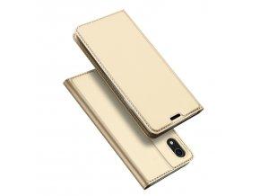 Pouzdro pro iPhone XR - DuxDucis, SkinPro Gold