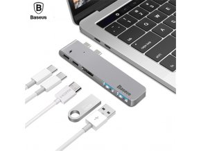 Redukce / adaptér USB-C - Baseus, Thunderbolt 5in1