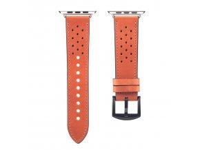 Kožený pásek / řemínek pro Apple Watch 42mm / 44mm - DuxDucis, Classic Brown