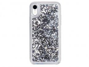 Ochranný kryt pro iPhone XR - Comma, Pattern Silver