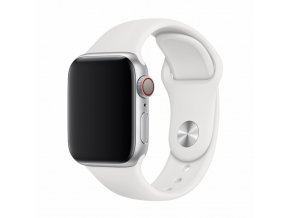 Řemínek pro Apple Watch 42mm / 44mm - Devia, Sport White