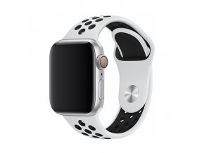 Řemínek pro Apple Watch 42mm / 44mm - Devia, Sport2 White