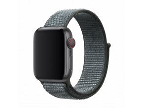 Řemínek pro Apple Watch 38mm / 40mm - Devia, Sport3 Storm Gray