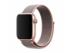 Řemínek pro Apple Watch 38mm / 40mm - Devia, Sport3 Pink Sand
