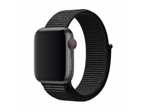 Řemínek pro Apple Watch 38mm / 40mm - Devia, Sport3 Black