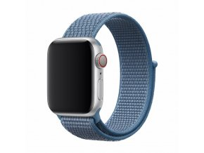 Řemínek pro Apple Watch 42mm / 44mm - Devia, Sport3 Cape Cod Blue