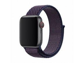Řemínek pro Apple Watch 42mm / 44mm - Devia, Sport3 Storm Indigo