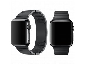 Řemínek pro Apple Watch 38mm / 40mm - Devia, LinkBracelet Black