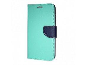 Pouzdro / kryt pro Samsung GALAXY J4 PLUS (2018) J415F - Mercury, Fancy Diary Mint/Nany