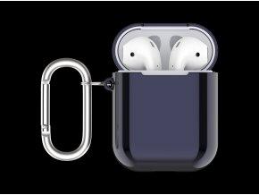 Pouzdro pro sluchátka AirPods - Devia, Electroplate Blue