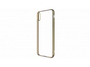 Ochranný kryt pro iPhone XS / X - Devia, Glimmer Gold