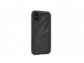 Ochranný kryt pro iPhone XS - Devia, Wave Black