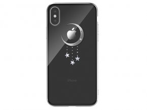 Ochranný kryt pro iPhone XS / X - Devia, Meteor Silver