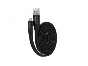 Kabel Lightning pro iPhone a iPad - Devia, Ring Black