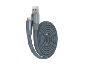 Kabel Lightning pro iPhone a iPad - Devia, Ring Grey