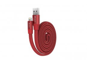 Kabel Lightning pro iPhone a iPad - Devia, Ring Red