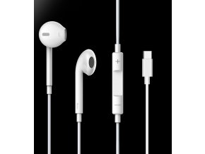 Sluchátka pro iPhone a iPad - Devia, Smart Earpads USB-C