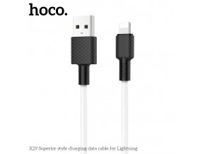 Kabel Lightning pro iPhone a iPad - Hoco, X29 Superior White