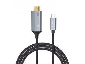 Propojovací kabel - HOCO, UA13 USB-C to HDMI