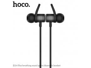 Sportovní bezdrátová sluchátka pro iPhone a iPad - Hoco, ES14 PLUS BreathingSound Black