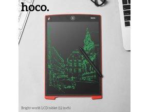 Digitální tabulka na kreslení či psaní - HOCO, Red 12 inch