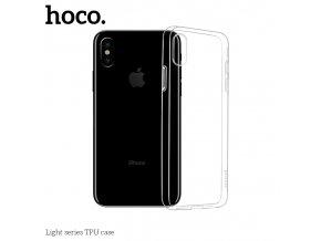 Ochranný kryt pro iPhone XS - Hoco, Light Transparent