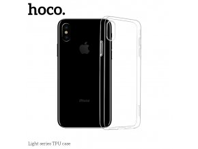 Ochranný kryt pro iPhone XS MAX - Hoco, Light Transparent