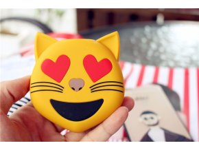 Externí baterie / POWERBANKA - Emoji, Cat