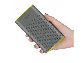 Externí baterie / powerbanka - HOCO, B31 Rege 20000mAh Gray