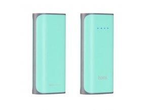Externí baterie / powerbanka - HOCO, B21 Tiny 5200mAh Cyan