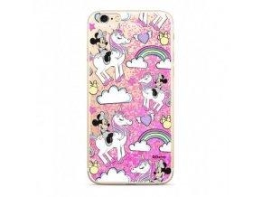 Ochranný kryt pro iPhone 5 / 5S / SE - Disney, Minnie 037 Pink