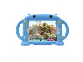 Dětské pouzdro pro iPad mini 1 / 2 / 3 / 4 - Cartoon Monkey, Blue