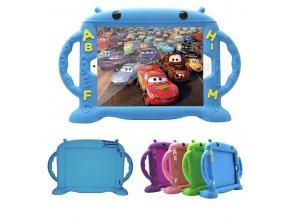 Dětské pouzdro pro iPad 2 / 3 / 4 - Cartoon Monkey, Blue