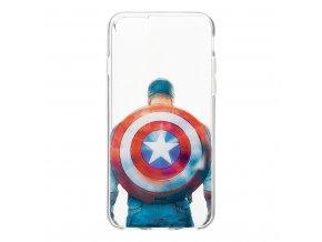 Ochranný kryt pro iPhone 7 / 8 - MARVEL, Captain America 002