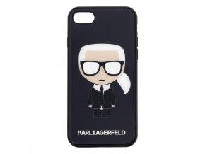Kryt pro iPhone 7 / 8 - Karl Lagerfeld, Body Glitter Black
