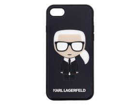 Ochranný kryt pro iPhone 7 / 8 - Karl Lagerfeld, Body Glitter Black