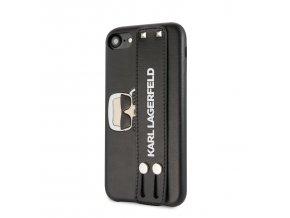 Ochranný kryt pro iPhone 7 / 8 - Karl Lagerfeld, Hand Strap Black