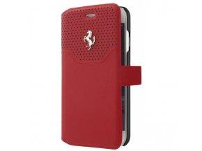 Pouzdro / kryt pro iPhone 7 / 8 - Ferrari, Lusso Book Red