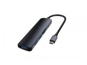 Redukce / adaptér USB-C - Devia, 5in1