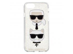 Ochranný kryt pro iPhone 8 / 7 / 6s / 6 - Karl Lagerfeld, Choupette TPU Gold