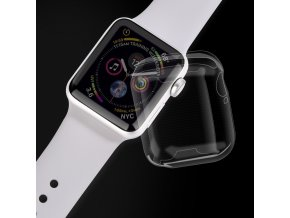 Pouzdro / kryt pro Apple Watch 44mm - Devia, Ice Clear Case