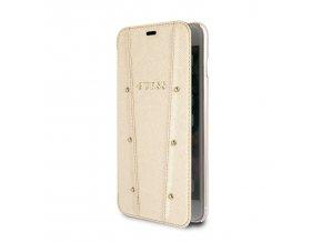 Ochranný kryt / pouzdro pro iPhone 7 / 8 - Guess, Kaia Book Gold