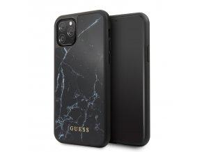 Ochranný kryt na iPhone 11 Pro - Guess, Marble Black