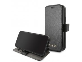 Pouzdro / kryt pro iPhone 11 Pro - Guess, Iridescent Book Black