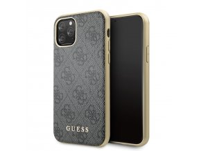 Ochranný kryt na iPhone 11 - Guess, 4G Cover Grey