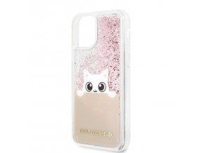 Ochranný kryt na iPhone 11 - Karl Lagerfeld, Glitter Peek and Boo