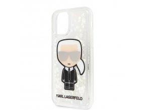 Ochranný kryt na iPhone 11 - Karl Lagerfeld, Glitter Iridescente