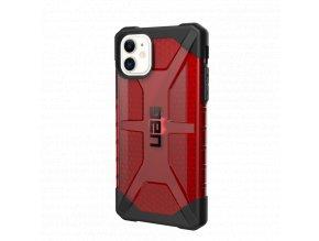 Ochranný kryt na iPhone 11 - UAG, Plasma Magma Red