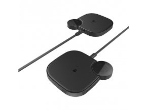 Bezdrátová rychlá nabíječka pro iPhone a Apple Watch - Hoco, S5 Rich Power 2in1